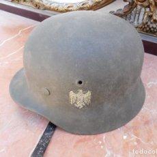 Militaria: CASCO DE LA DIVISIÓN AZUL. Lote 166898744