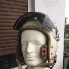 Militaria: CASCO DE PILOTO P-4 USAF, GUERRA DE COREA, VIETNAM EJERCITO DEL AIRE. Lote 167544560