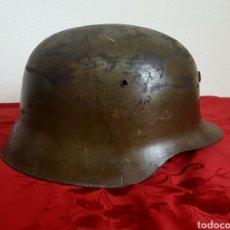 Militaria: CASCO MILITAR Z42 CON BARBUQUEJO. Lote 192988890