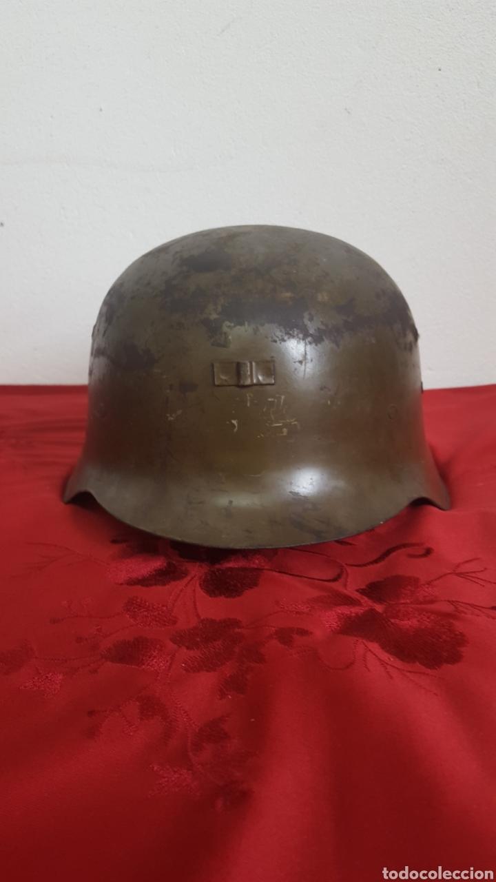 Militaria: CASCO MILITAR Z42 CON BARBUQUEJO - Foto 2 - 192988890