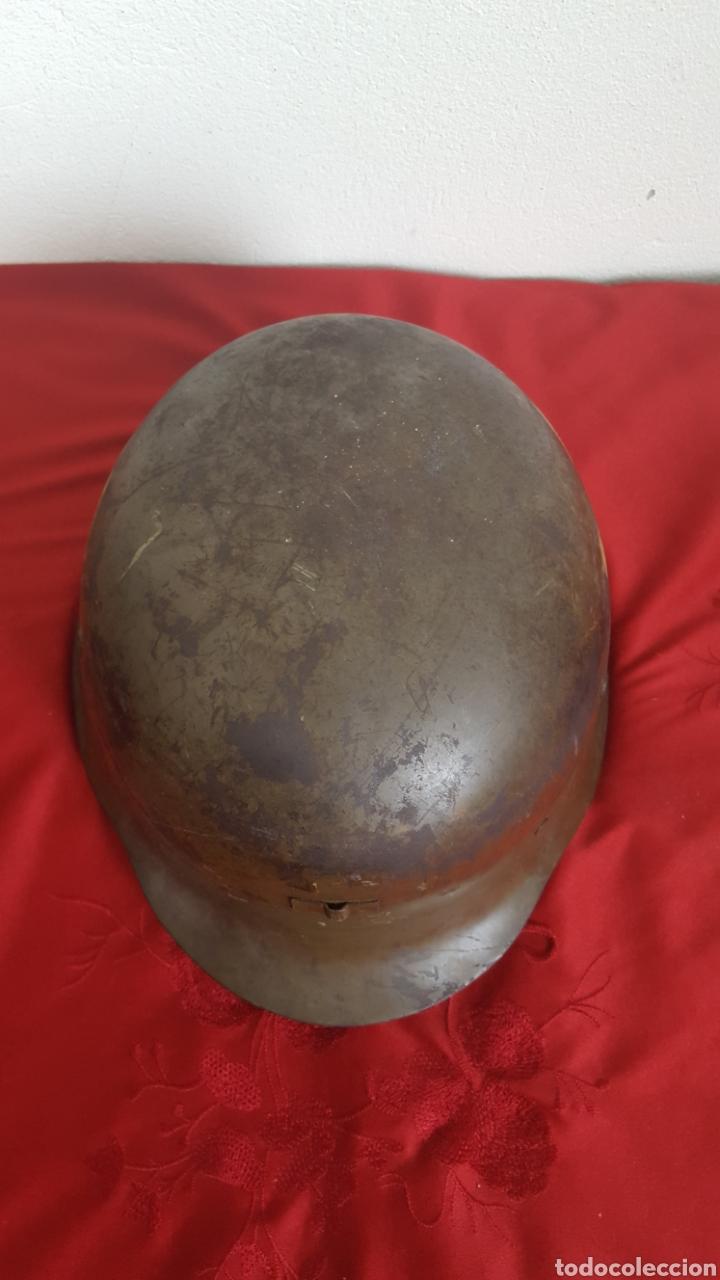 Militaria: CASCO MILITAR Z42 CON BARBUQUEJO - Foto 4 - 192988890