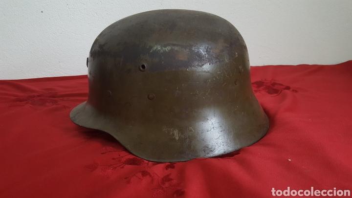 Militaria: CASCO MILITAR Z42 CON BARBUQUEJO - Foto 5 - 192988890