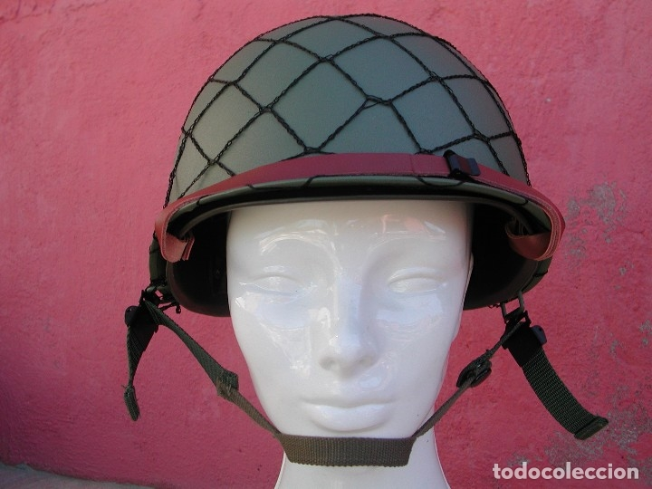 Militaria: Casco americano M1 Segunda guerra mundial - Foto 8 - 167811272