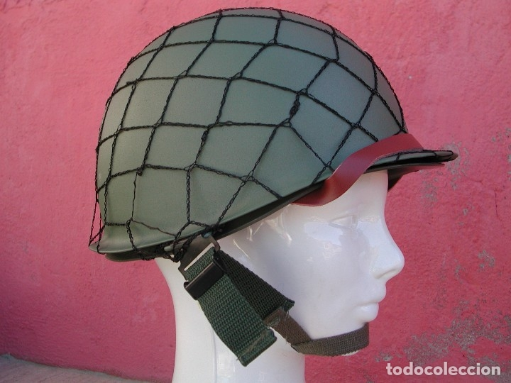 Militaria: Casco americano M1 Segunda guerra mundial - Foto 9 - 167811272