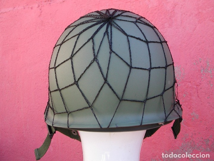 Militaria: Casco americano M1 Segunda guerra mundial - Foto 10 - 167811272