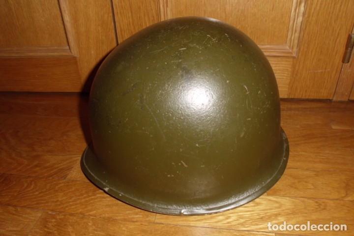 Militaria: CASCO AMERICANO M1 ORIGINAL WWII - Foto 2 - 168618304