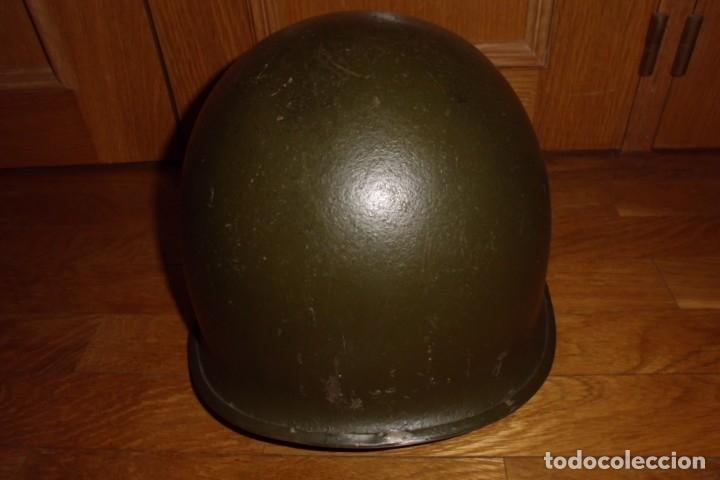 Militaria: CASCO AMERICANO M1 ORIGINAL WWII - Foto 3 - 168618304