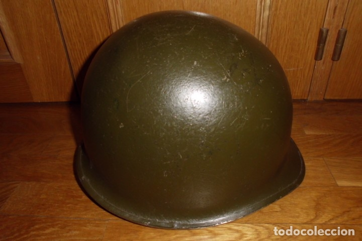 Militaria: CASCO AMERICANO M1 ORIGINAL WWII - Foto 4 - 168618304