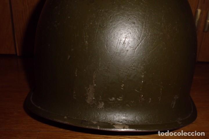 Militaria: CASCO AMERICANO M1 ORIGINAL WWII - Foto 6 - 168618304