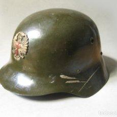 Militaria: CASCO DE PARADA O PARA DESFILES DEL REGLAMENTO DE 1943 PARA EL EJÉRCITO DE TIERRA - CASA YUSTAS. Lote 179173678