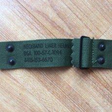 Militaria: VIETNAM, TELA INTERIOR LINER CASCO M1 MODELO REGULABLE. Lote 169013080