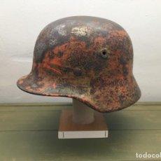 Militaria: CASCO ALEMAN M40 CAMO. Lote 169329308