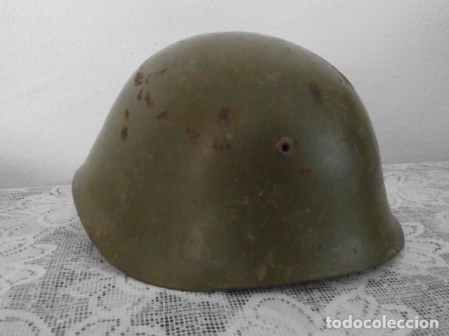 Militaria: Antiguo casco militar ejercito italiano II segunda guerra mundial M33 año 1934 guerra civil española - Foto 2 - 169338808