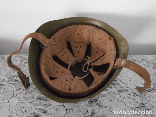 Militaria: Antiguo casco militar ejercito italiano II segunda guerra mundial M33 año 1934 guerra civil española - Foto 3 - 169338808