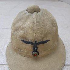 Militaria: SALACOT ORIGINAL ALEMAN DE LA KRIEGSMARINE 1942 II GUERRA MUNDIAL. Lote 221585758