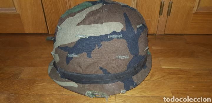 Militaria: M1 casco americano original - Foto 2 - 170140016