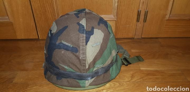 Militaria: M1 casco americano original - Foto 3 - 170140016