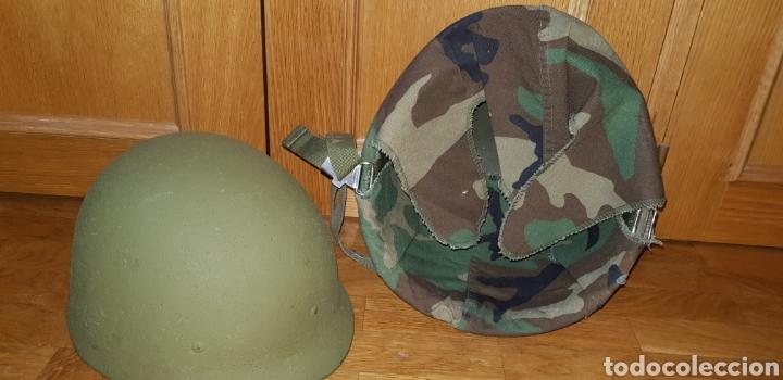 Militaria: M1 casco americano original - Foto 5 - 170140016