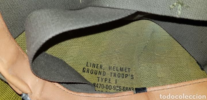 Militaria: M1 casco americano original - Foto 7 - 170140016