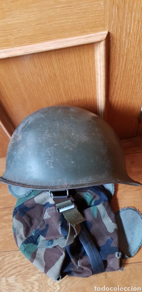 Militaria: M1 casco americano original - Foto 10 - 170140016