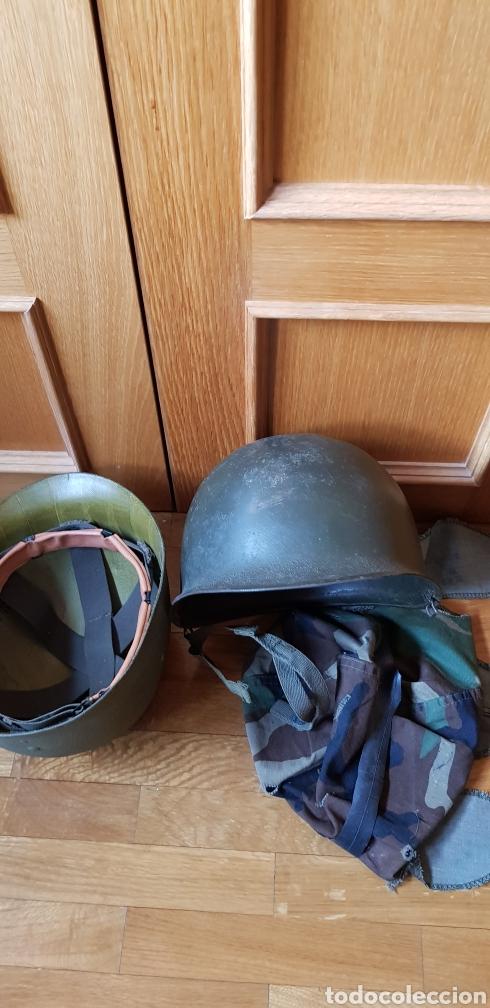 Militaria: M1 casco americano original - Foto 12 - 170140016