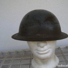Militaria: OLLA DE CASCO BRITÁNICO DE DEFENSA PASIVA (PROTECCIÓN CIVIL) ´ZUCKERMAN´. SEGUNDA GUERRA MUNDIAL. Lote 170507792