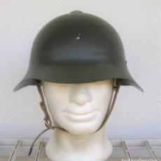 Militaria: CASCO ´RUSO´GUERRA CIVIL ESPAÑOLA. SSH-36, M36, SSH36, KHALINGOLKA CASCO SOVIÉTICO.RESTAURADO.2ªGM.. Lote 170518220