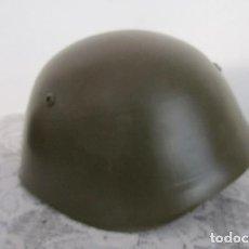 Militaria: ANTIGUO CASCO MILITAR EJERCITO BULGARO COPIA DEL MODELO ITALIANO M1933 AÑO 1951 EN MUY BUEN ESTADO. Lote 171688915