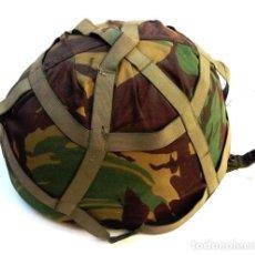 Militaria: CASCO BRITANICO MODELO MK-IV, KEVLAR CON FUNDA. Lote 171777012