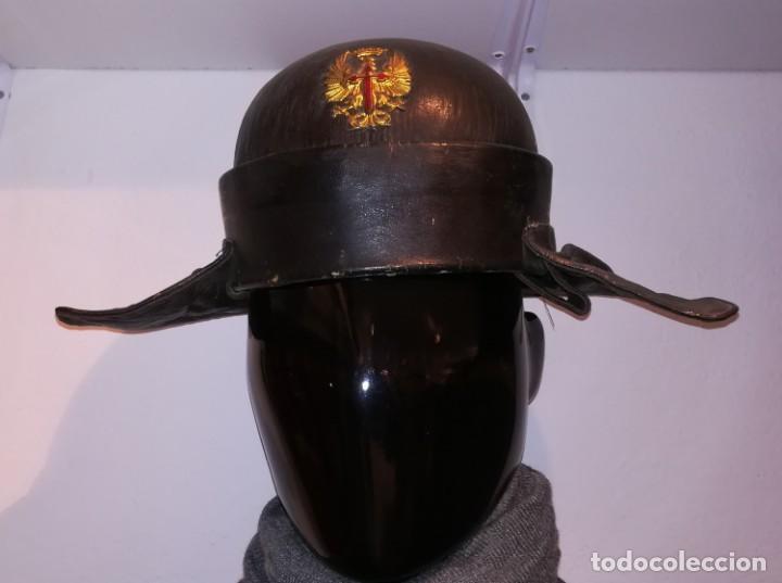 CASCO TANQUISTA ESPAÑOL.POSGUERRA (Militar - Cascos Militares )