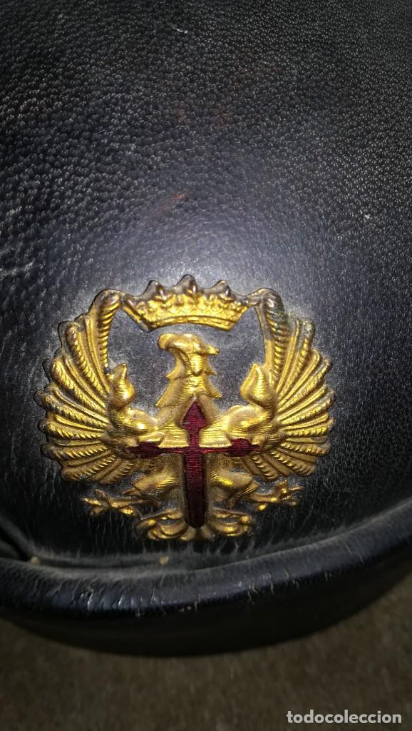 Militaria: CASCO TANQUISTA ESPAÑOL.POSGUERRA - Foto 6 - 171811702
