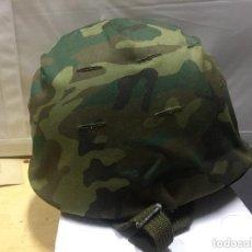 Militaria: CASCO MILITAR FEDUR ESPAÑOL INFANTERÍA.. Lote 171815087