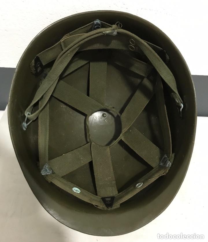 Militaria: SOTOCASCO PARA CASCO MILITAR AMERICANO M1 US ARMY - Foto 4 - 172997995