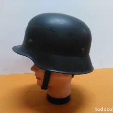 Militaria: CASCO ALEMÁN DE BOMBERO M-34 Y DE PROTECCIÓN CIVIL Y MILITAR . Lote 173078717