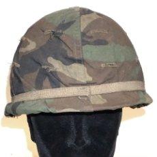 Militaria: USA CASCO M1 A1 (1961- 65) FUNDA CAMUFLAJE. Lote 173895712