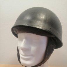 Militaria: CASCO US BRITANICO MOTORISTA DESPATCH RIDER ORIGINAL WWII. Lote 174924214