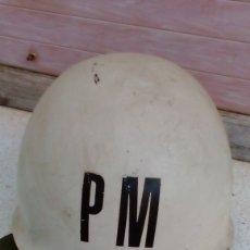 Militaria: CASCO PM DEL EJÉRCITO ESPAÑOL SIN SOTOCASCO. Lote 175291570