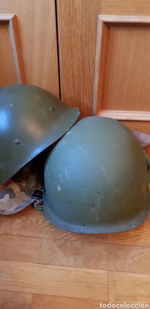 Militaria: Casco M1c USA guerra Vietnam - Foto 6 - 175885414