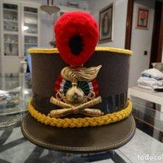 Militaria: GORRO DE LA ARTILLERIA A CABALLO ITALIANA. Lote 177200002