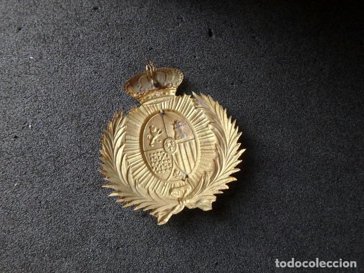 Militaria: (JX-191025)Casco metálico de Gala de Caballería del Cuerpo de Guardia Urbana de Barcelona. - Foto 4 - 177883350