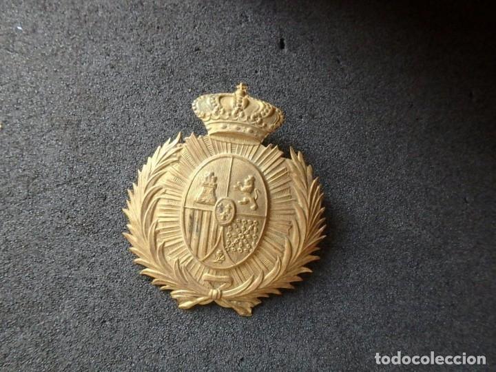 Militaria: (JX-191025)Casco metálico de Gala de Caballería del Cuerpo de Guardia Urbana de Barcelona. - Foto 5 - 177883350