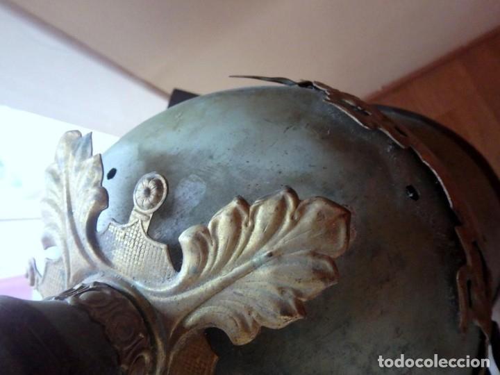 Militaria: (JX-191025)Casco metálico de Gala de Caballería del Cuerpo de Guardia Urbana de Barcelona. - Foto 10 - 177883350