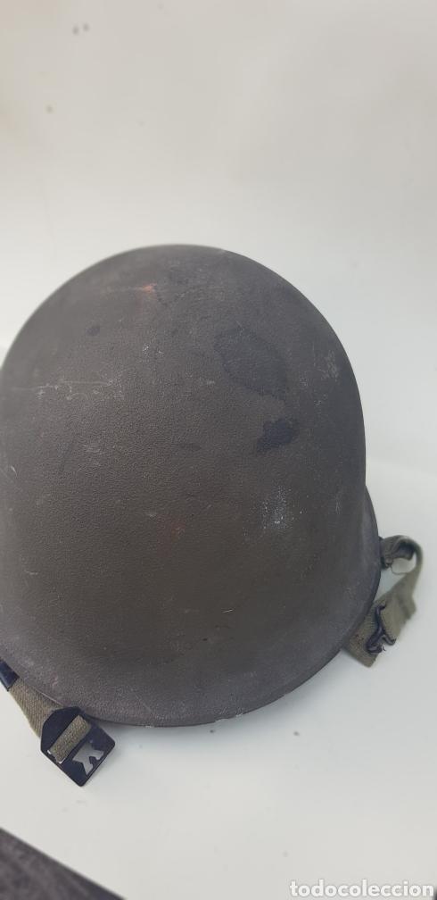Militaria: CASCO FRANCES M51 TIPO M1 AMERICANO - Foto 6 - 165447568