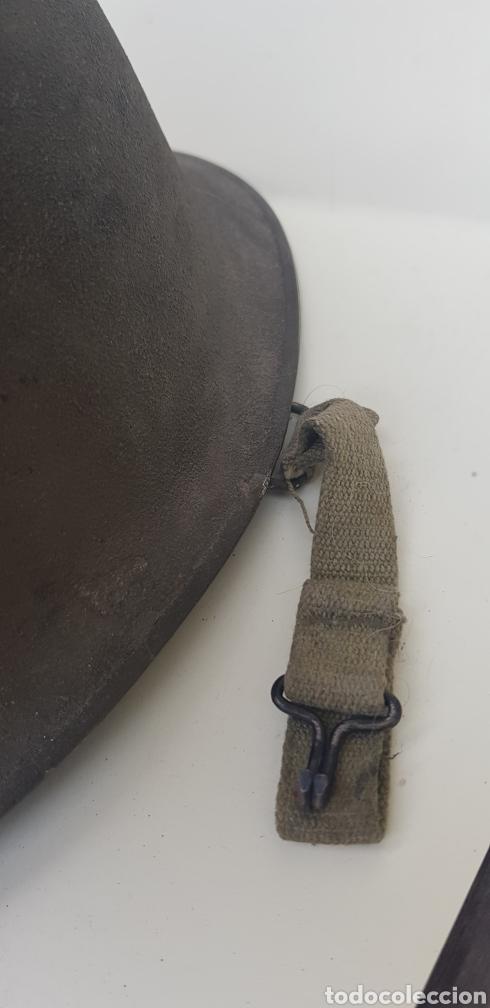 Militaria: CASCO FRANCES M51 TIPO M1 AMERICANO - Foto 7 - 165447568