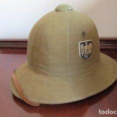 Militaria: ANTIGUO CASCO MILITAR ALEMÁN USADO POR EL AFRIKA KORPS EN LA II SEGUNDA GUERRA MUNDIAL III REICH. Lote 180123118