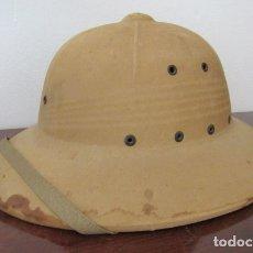 Militaria: ANTIGUO CASCO MILITAR SALACOT INFANTERÍA DE MARINA DE LOS ESTADOS UNIDOS II SEGUNDA GUERRA MUNDIAL. Lote 180194382