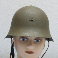 Militaria: CASCO TRUBIA MODELO 38 AZAÑA ( GUERRA CIVIL ) CON AGUILA. Lote 180388405