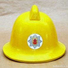 Militaria: CASCO DE BOMBERO DE GIBRALTAR - 1983 - EN PERFECTO ESTADO - EXCELENTE PIEZA. Lote 180876421