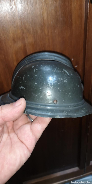 Militaria: Antigua miniatura de casco portugues PORTUGAL Adrián - Foto 3 - 180882863