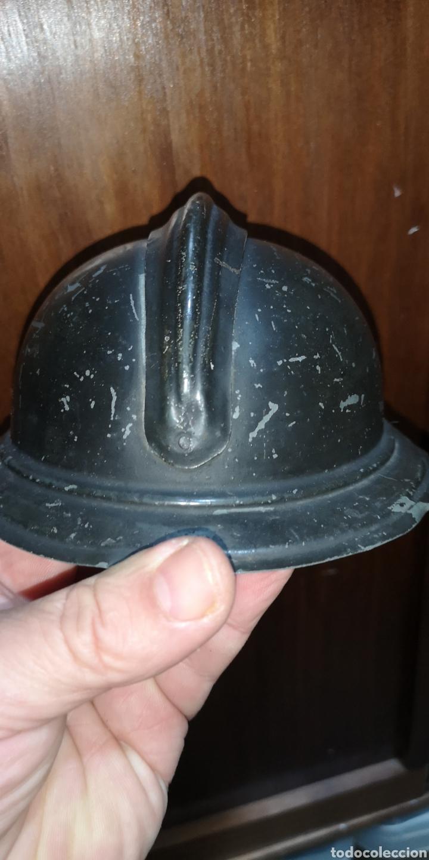Militaria: Antigua miniatura de casco portugues PORTUGAL Adrián - Foto 4 - 180882863